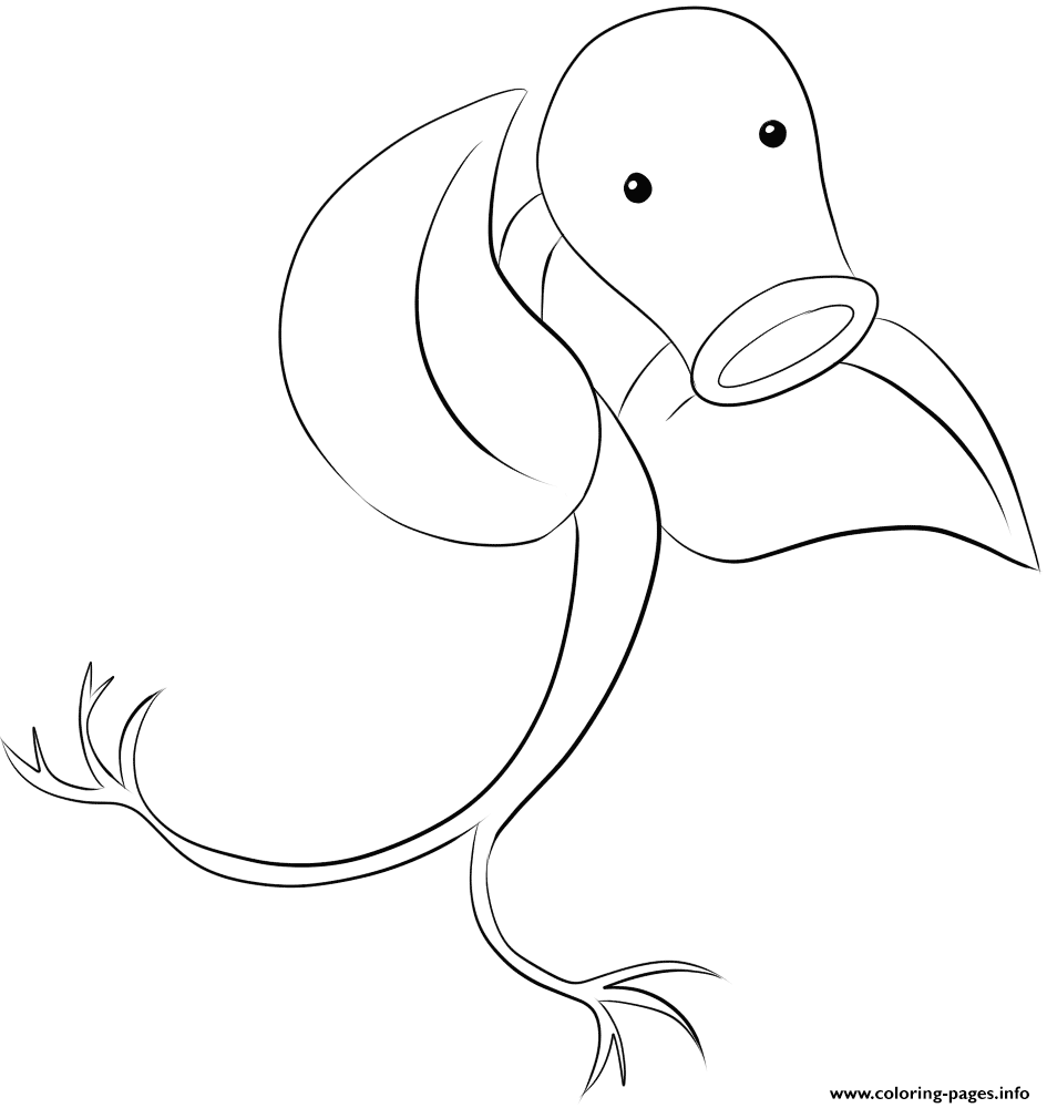 069 Bellsprout Pokemon coloring pages