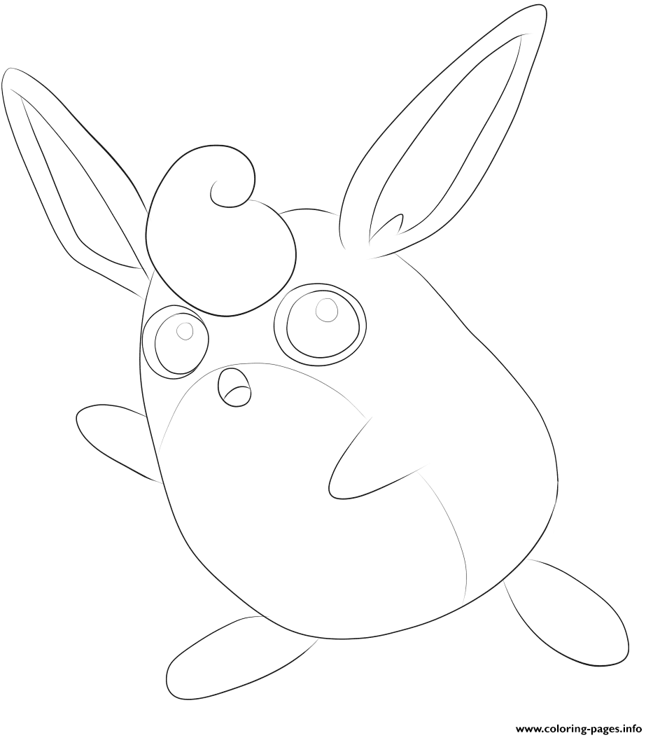 040 Wigglytuff Pokemon coloring pages