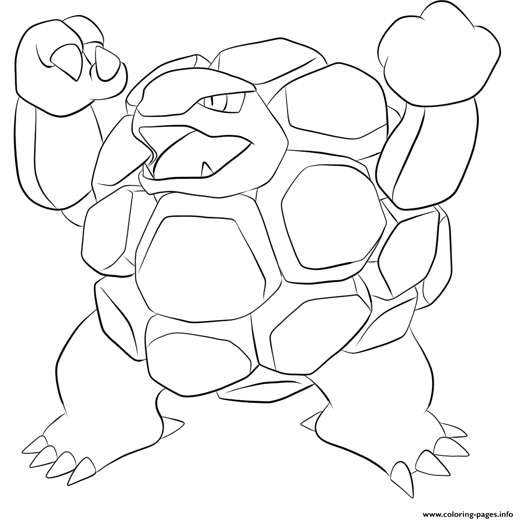 076 golem pokemon Coloring pages Printable