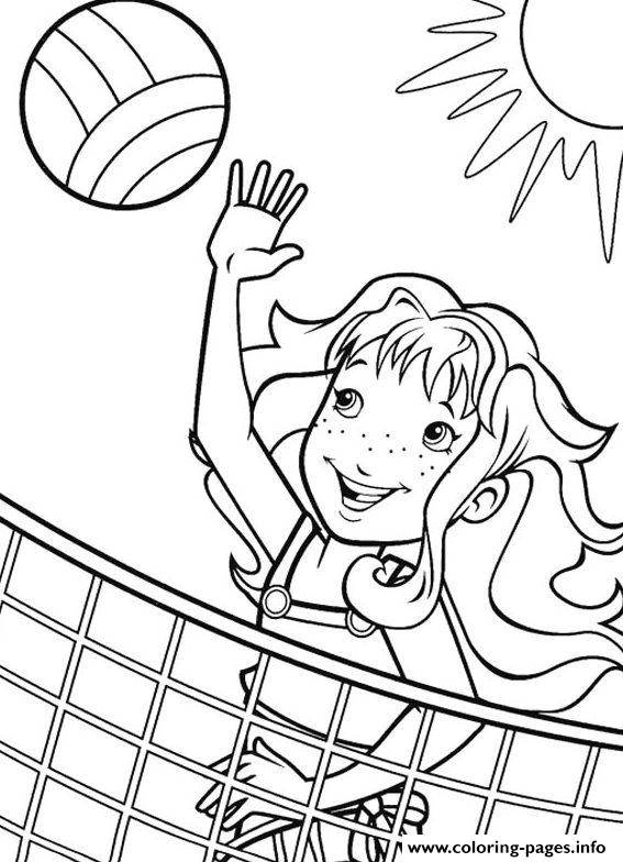 sport volleyball s for girls bf4d coloring pages