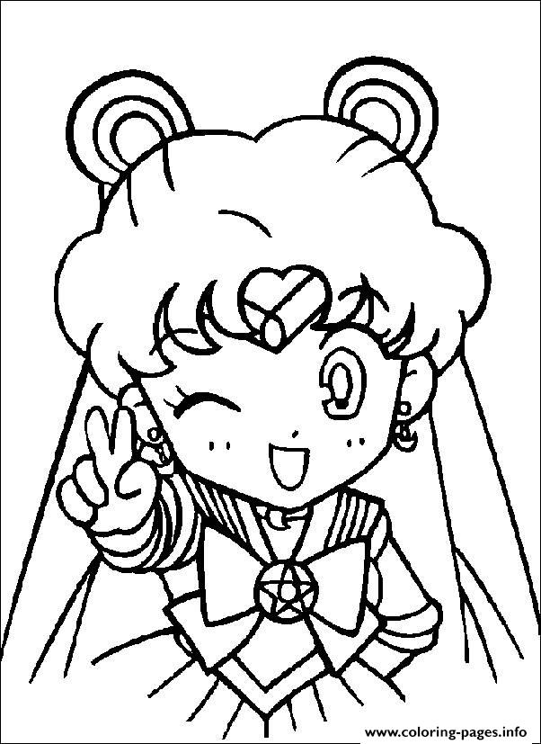 cute sailormoon s for girls eb28 coloring pages