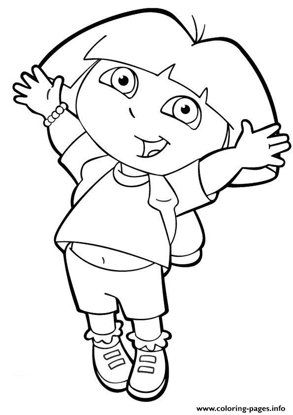 for girls dora the explorercd21 coloring pages