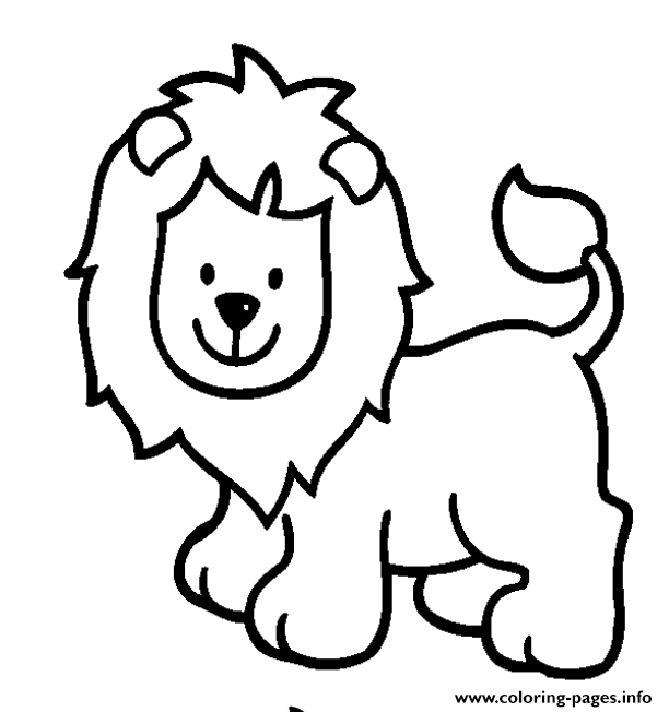 Lion S For Girls Animals33a4 coloring pages