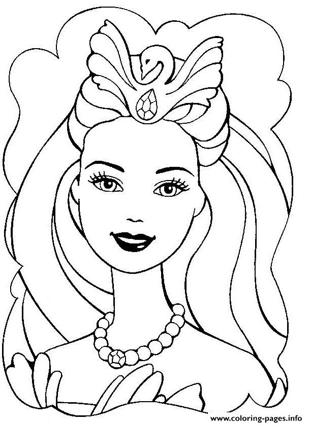 beautiful barbie s for girly girls 662d coloring pages