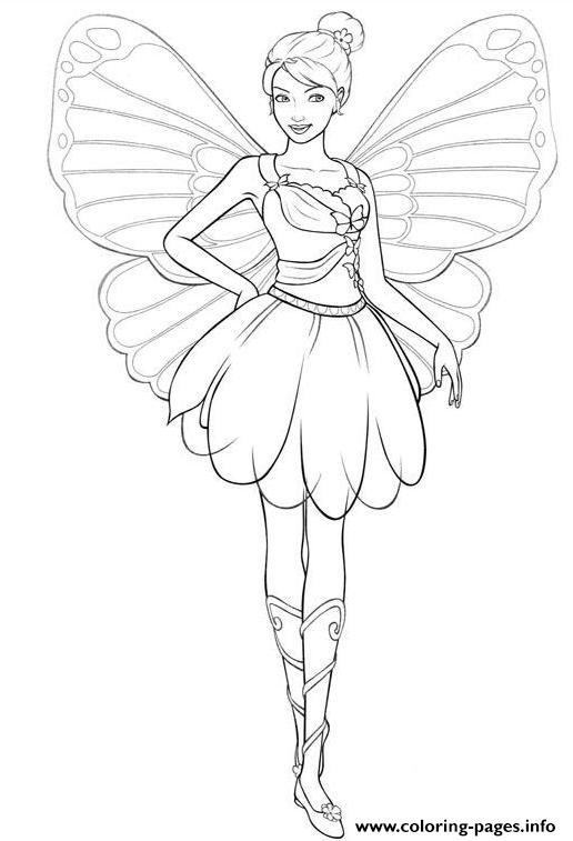 girls s barbie fairyf207 coloring pages