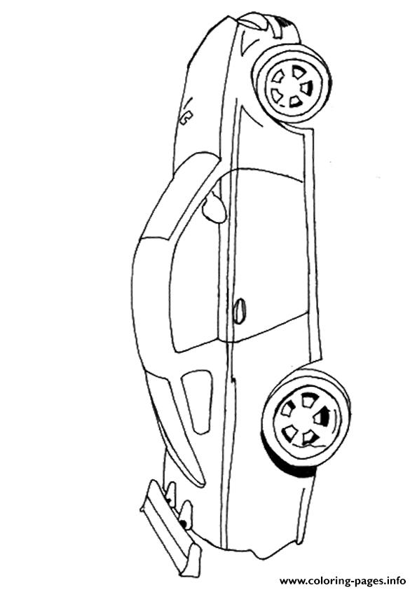 The Bmw A4 coloring pages
