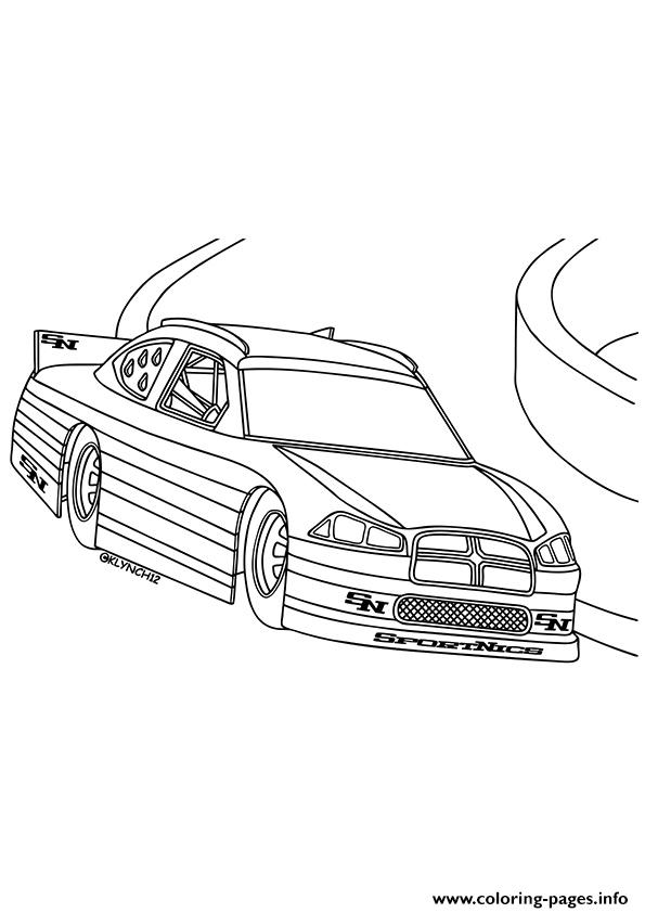 Luxury Coloring Pages Race Cars Nascar Printable Coloring Pages ... | 842x595