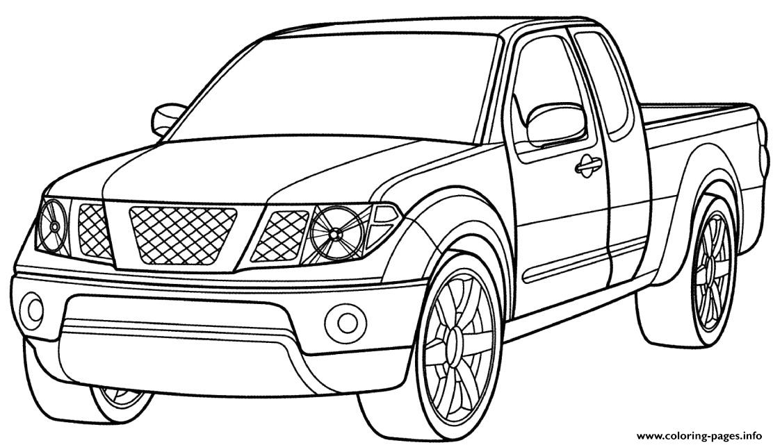 Ford Pickup Truck Car Coloring Pages Printable