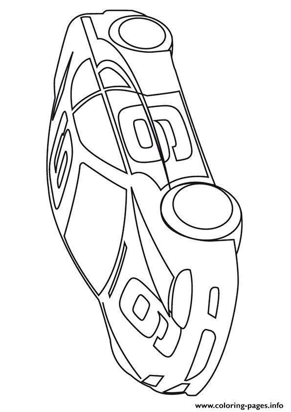 The 9 Sport Car Coloring Pages Printable