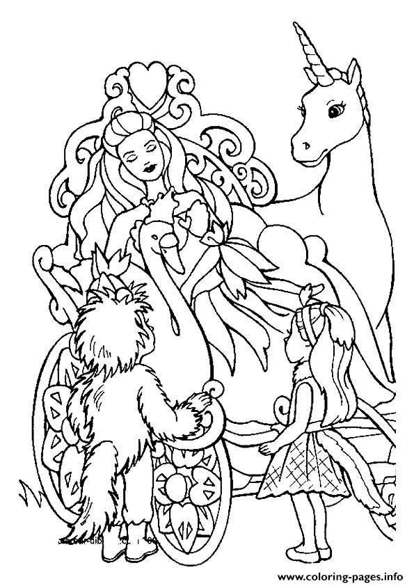 Coloring Pages Unicorn Princess Coloring Pages