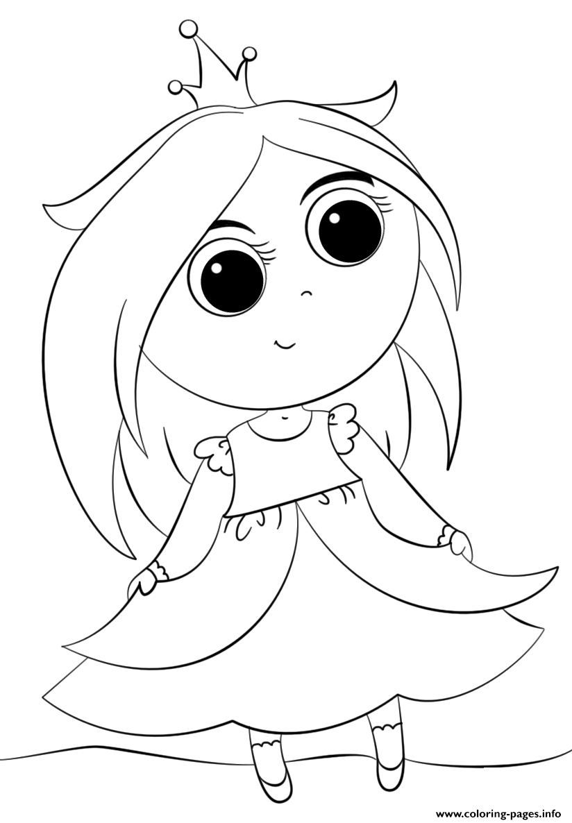 cute princess coloring pages cute little princess kawaii coloring pages printable
