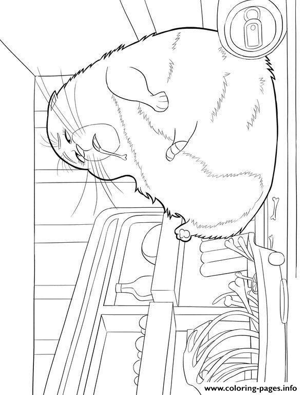 Chloe secret life of pets coloring pages printable for Secret life of pets printable coloring pages