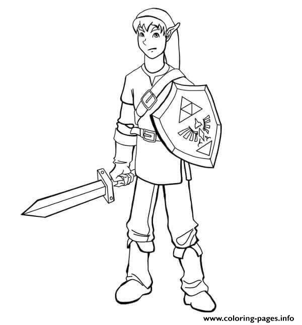 Link Coloring Pages Printable