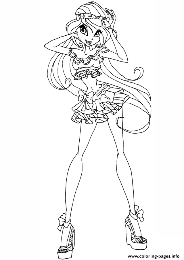 Winx Club Aisha coloring page | Free Printable Coloring Pages | 904x640