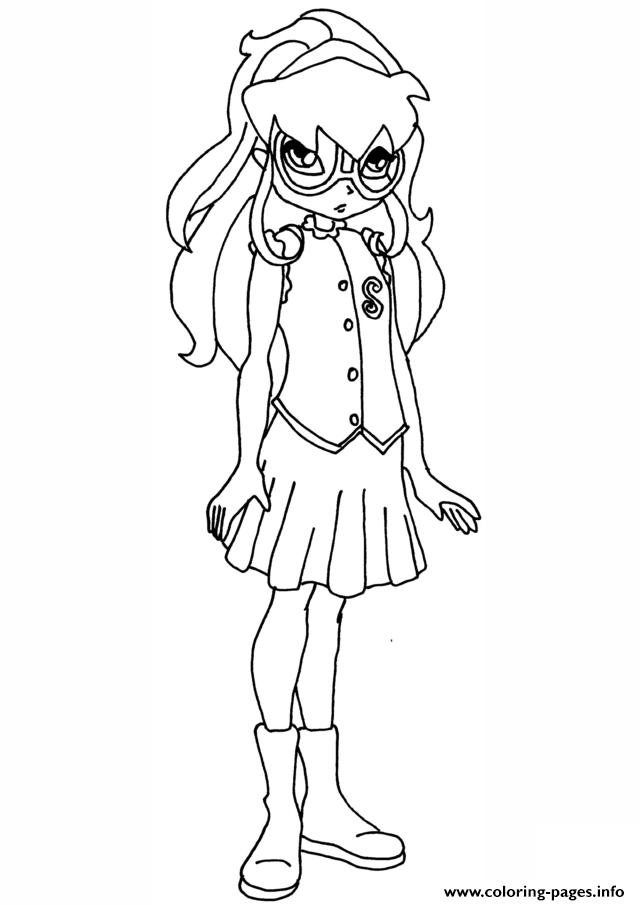 Stella Kid Winx Club coloring pages