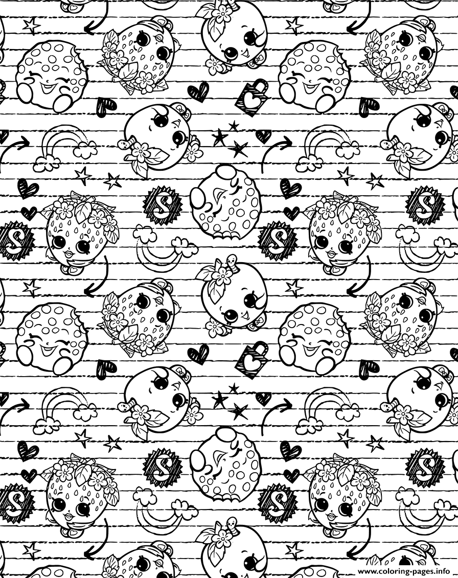 Shopkin coloring pages to print - Shopkin Coloring Pages To Print 50