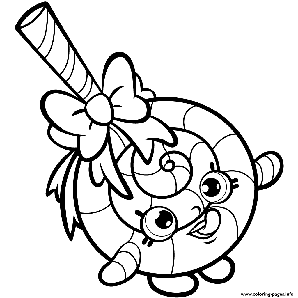 Lolli Poppins Coloring Pages Printable