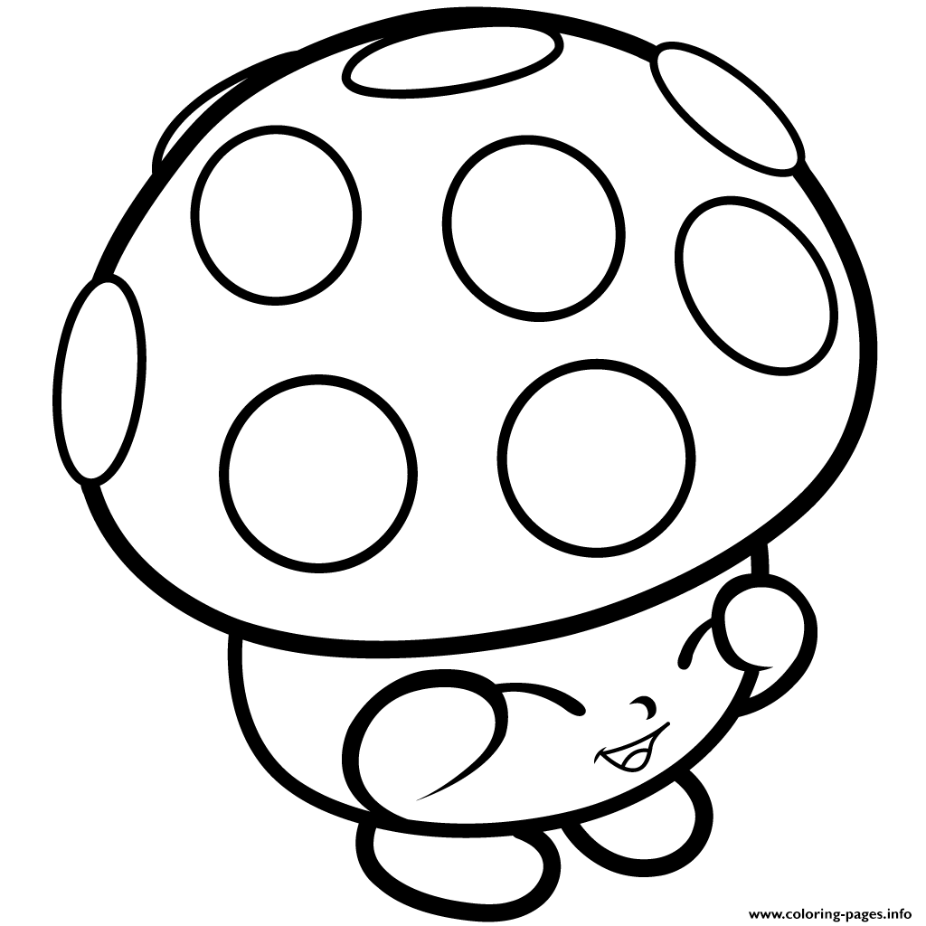 mushroom miss mushy moo shopkins season 1s coloring pages printable