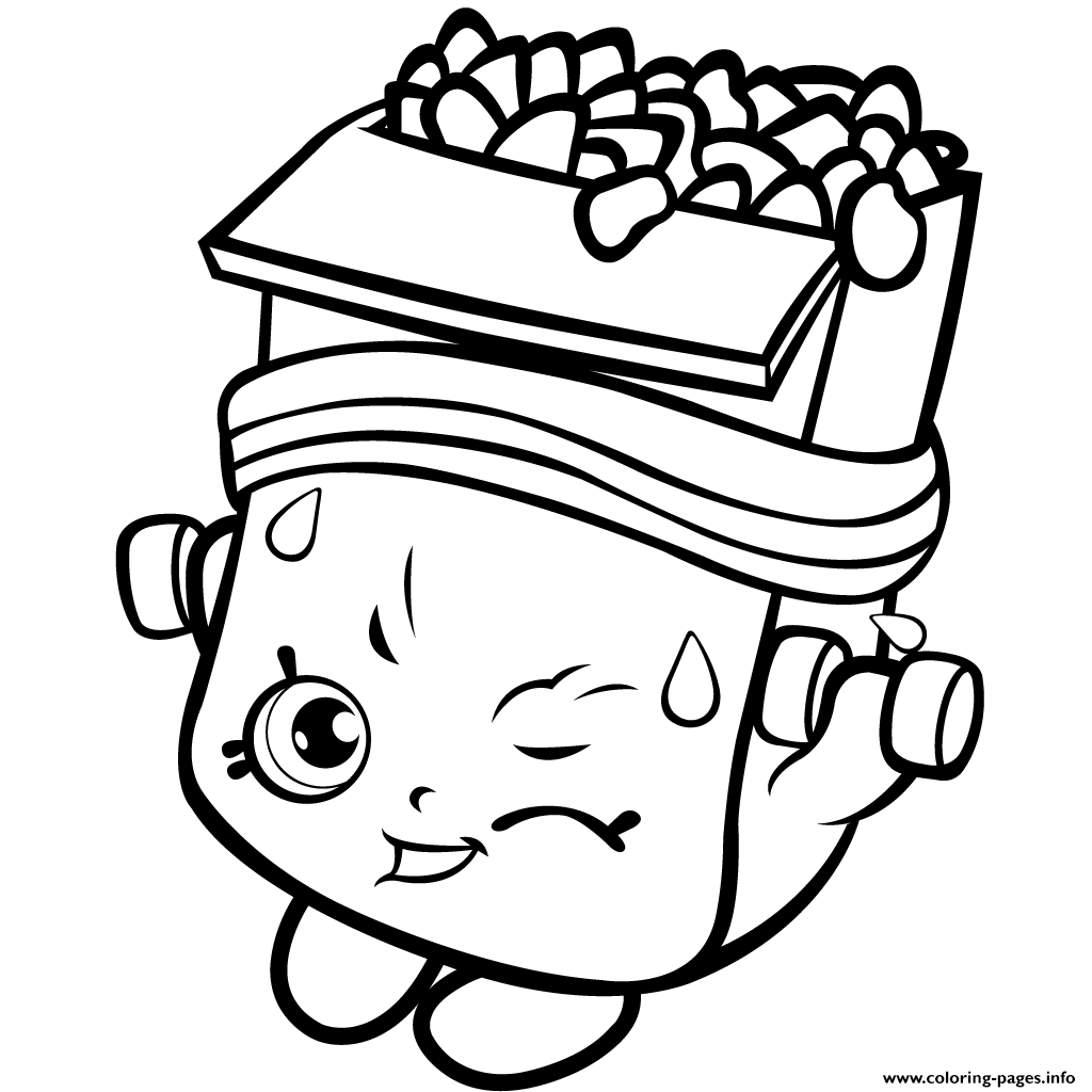 Shopkins coloring pages wishes - Shopkins Season 1 Of Strong Coloring Pages