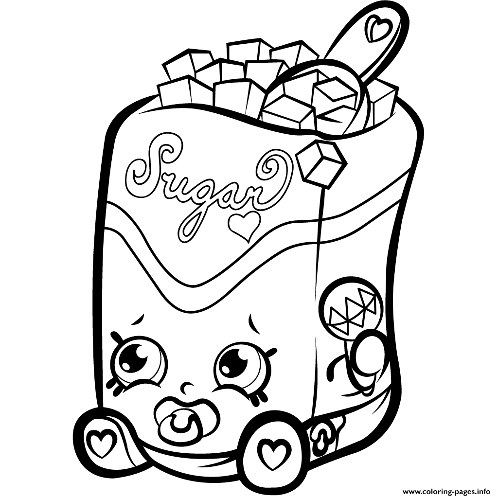 sugar lump shopkins season 1s coloring pages printable