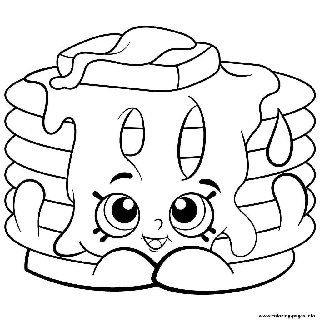 Pamela Pancake Free Printable Shopkins Season 2 Coloring Pages Printable