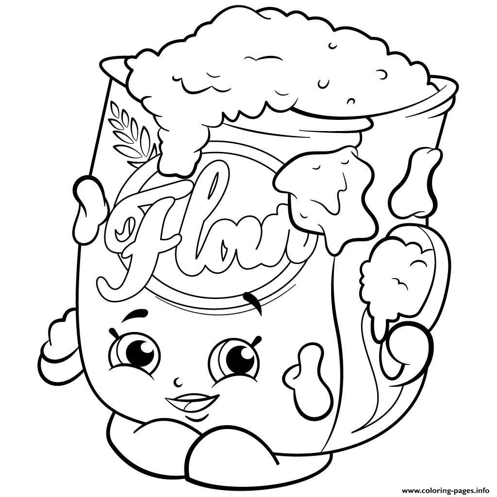 Season 2 Flour Shopkins Season 2 Coloring Pages Printable