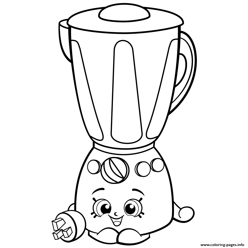 brenda blender from homewares shopkins season 2 coloring pages