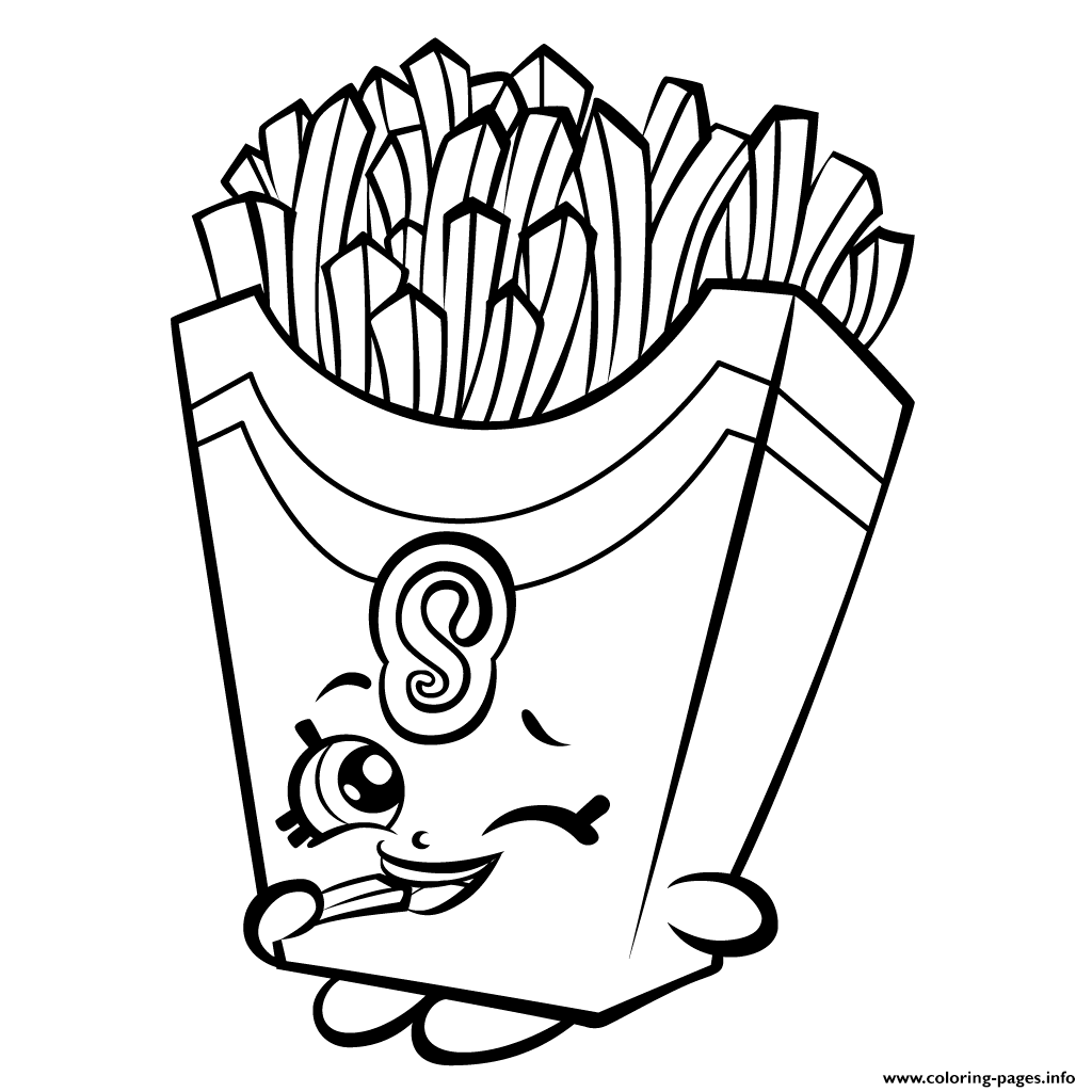 Fiona Fries Season 3 Shopkins Season 3 coloring pages