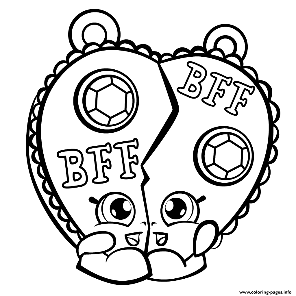 Chelsea Charm Shopkins Season 3 coloring pages