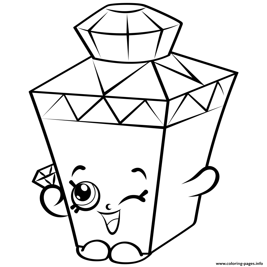 limited edition gemma gem to colour shopkins season 4 coloring pages