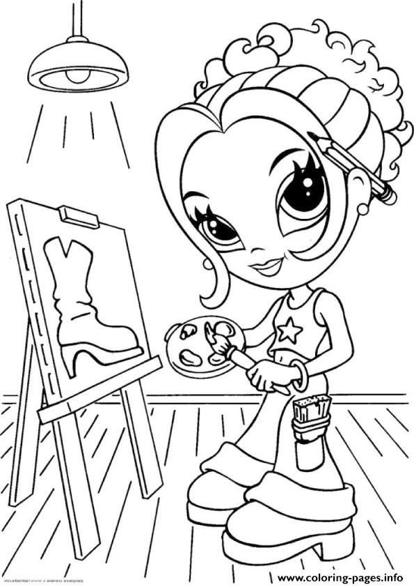 lisa frank printable coloring pages a4 coloring pages - Lisa Frank Coloring Pages