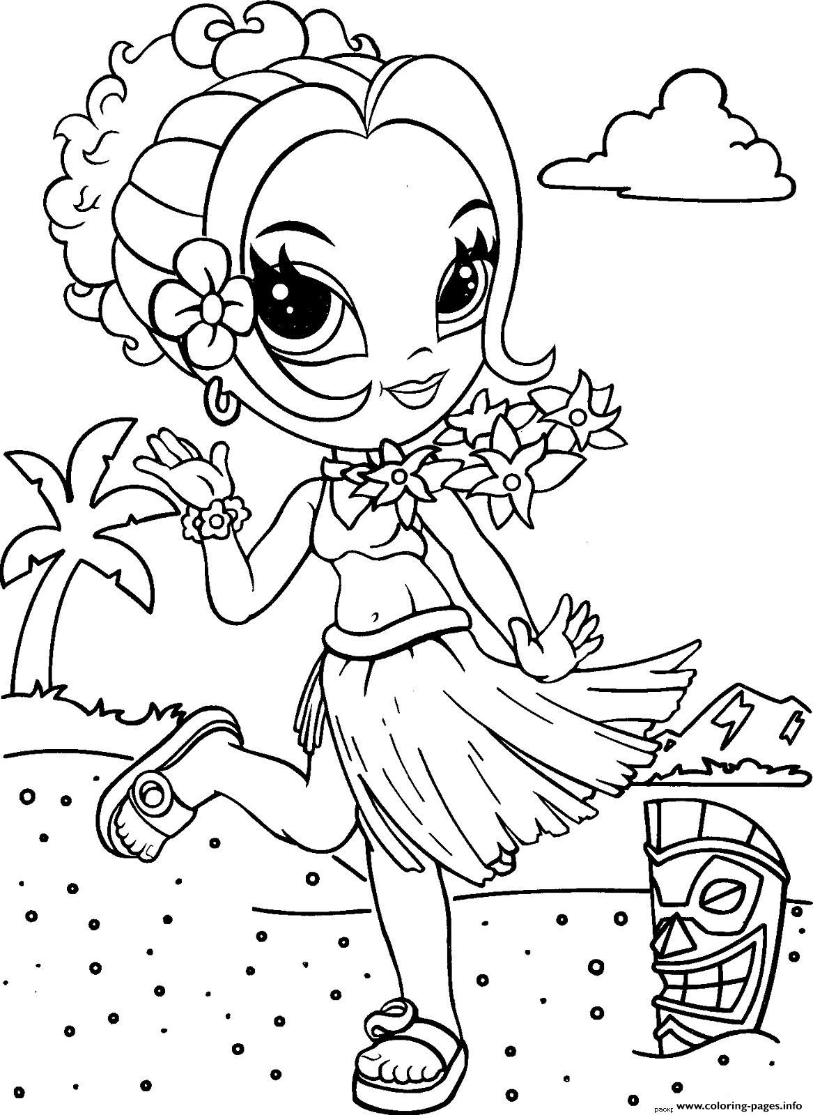 Beach Colouring Pages - Messy Little Monster | 1600x1167