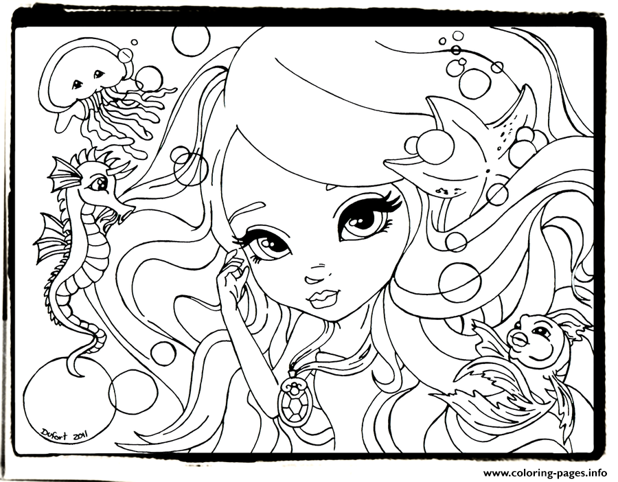 Happy Lisa Frank Cute Coloring Pages Printable