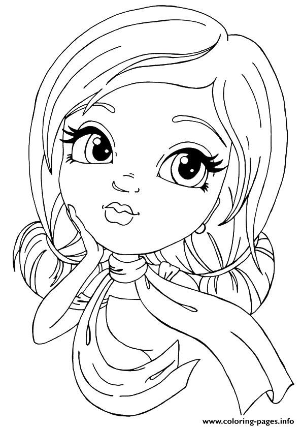 Rock Star A4 Coloring Pages Printable