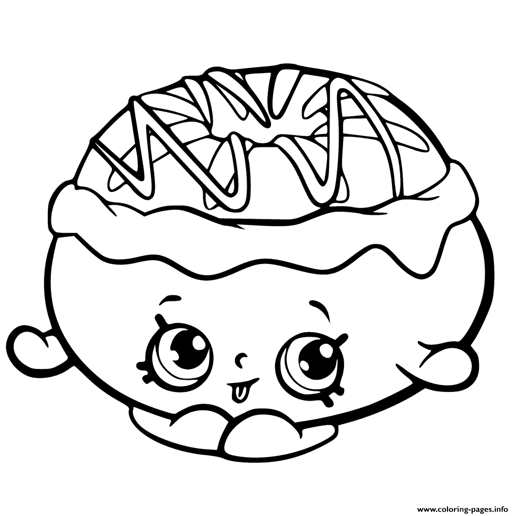 Chrissy Cream From Shopkins Chef Club coloring pages