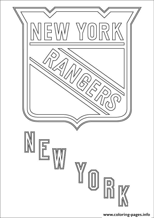 New York Rangers Logo Nhl Hockey