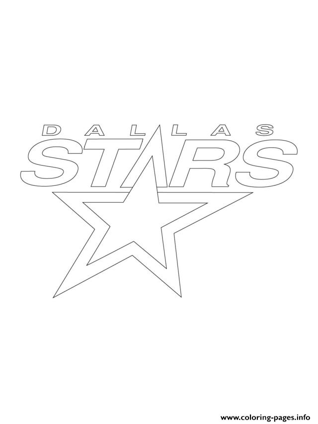 Dallas Stars Logo Nhl Hockey Sport