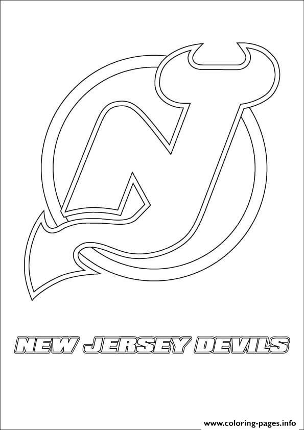 New Jersey Devils Logo Nhl Hockey