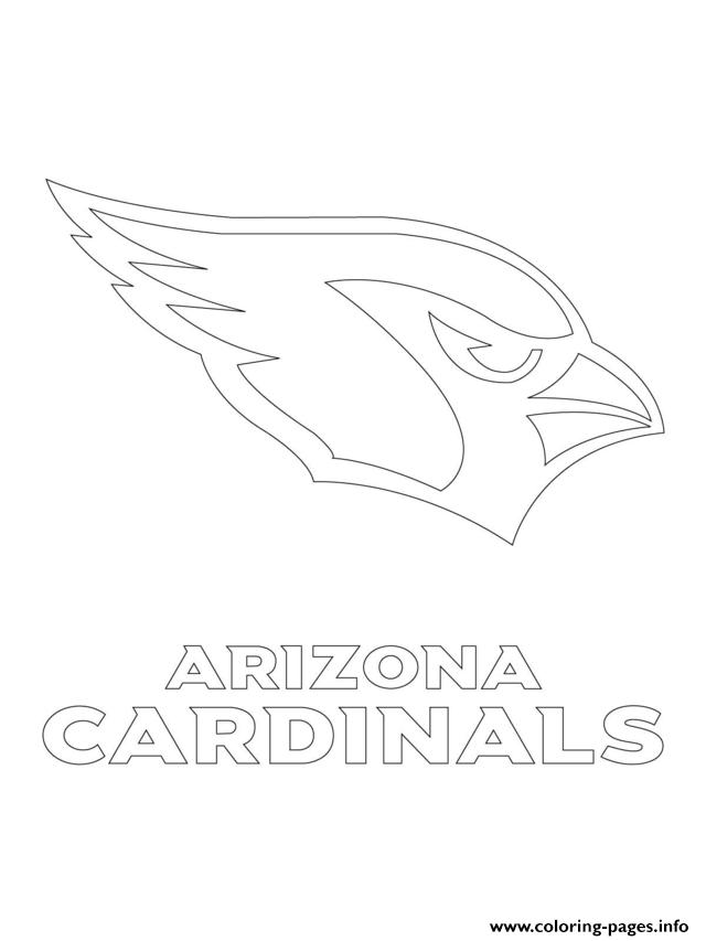 Arizona Cardinals Logo Football