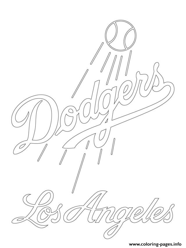 mlb team logos coloring pages - angels baseball free coloring pages
