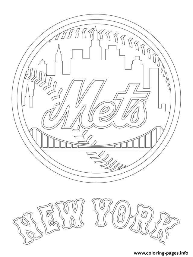 New York Mets Logo Mlb Baseball