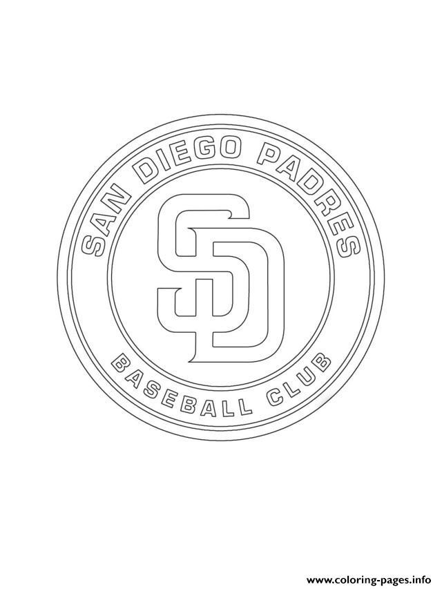 San Diego Padres Logo Mlb Baseball
