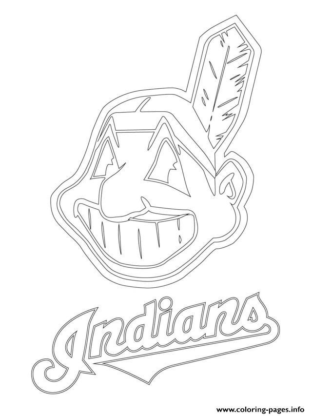Clevelend Indians Logo Mlb Baseball