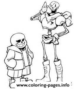 Undertale Game Coloring Pages