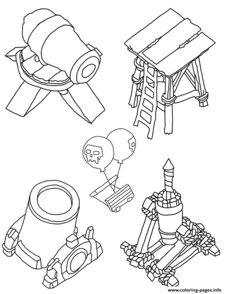 clash of clans coloring pages Tower Group Clash Of Clans Coloring Pages Printable clash of clans coloring pages