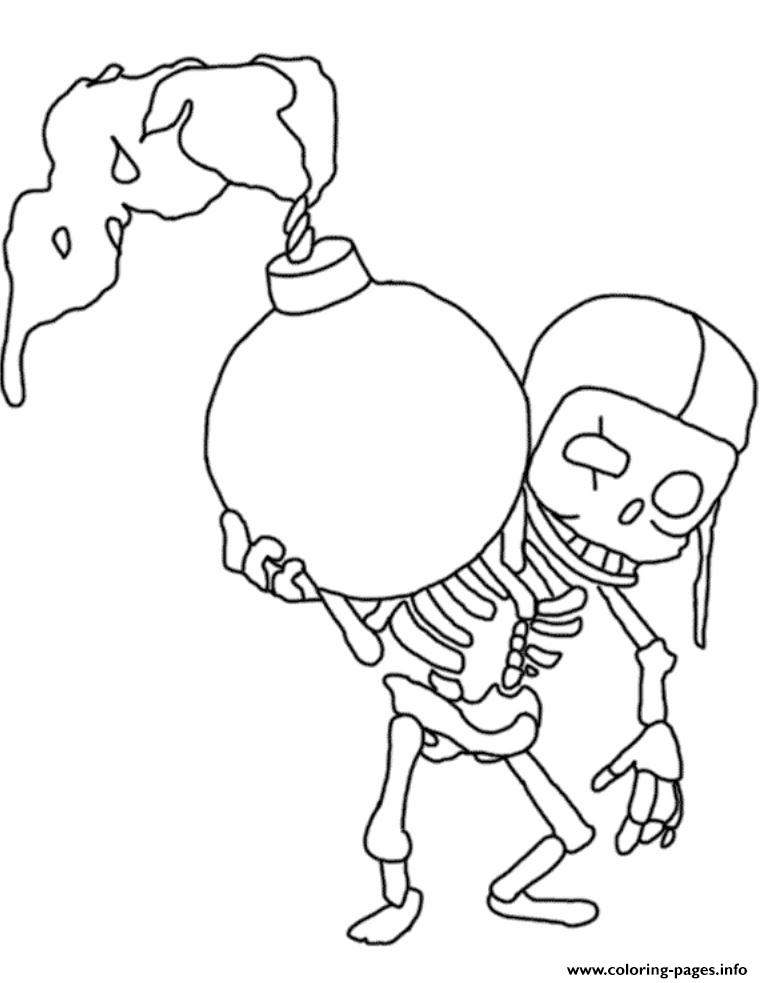 Wallbreaker Clash Of Clans Coloring Pages