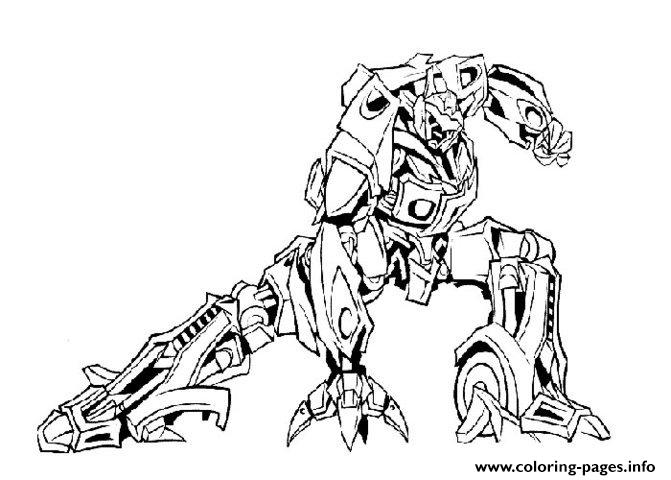 Transformers 99 Coloring Pages Printable