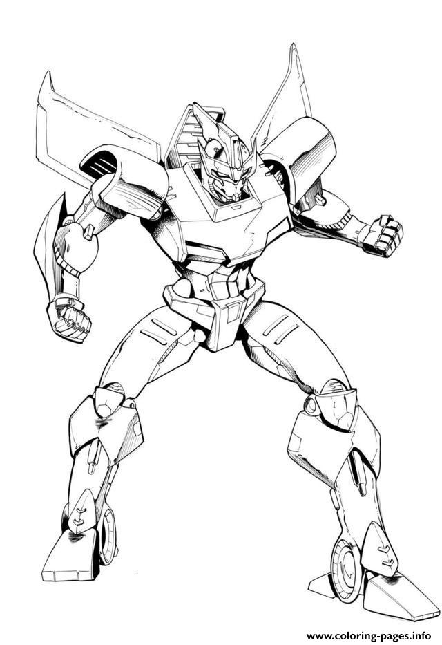Printable Transformers Cartoon652e Coloring Pages Printable