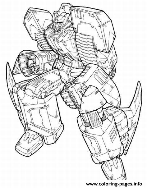 Transformers 75  coloring pages