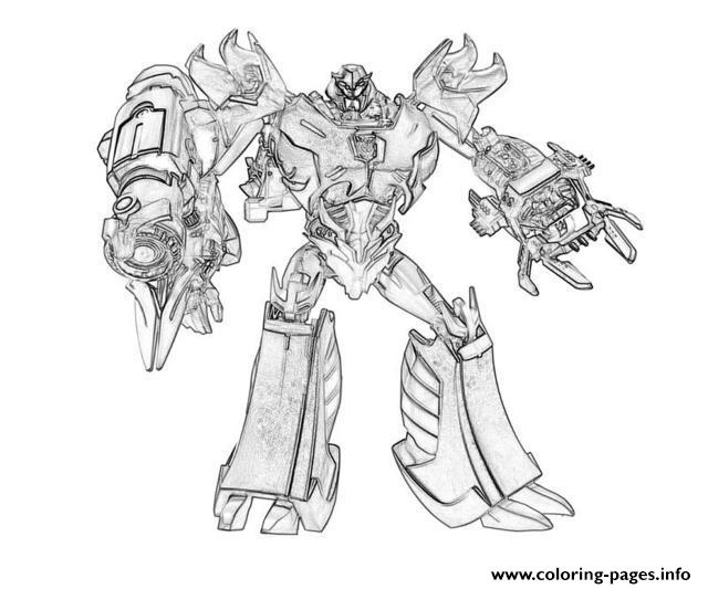 Transformers 218  coloring pages